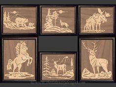 SLDOLSET1 - Overlay Wildlife Portrait Set