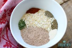 Homemade Dry Onion Soup Mix recipe from The Country Cook. Control the sodium, MSG and gluten that goes into your diet with this do-it-yourself recipe!