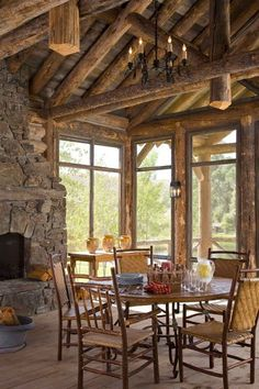 Cabin Homes, Log Homes, Rustic Luxe, Rustic Style, Rustic Design, Log Cabin Kits, Rustic French Country, Timber Frame Homes, Cabins In The Woods