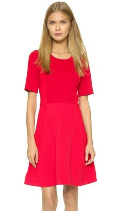 Sonia by Sonia Rykiel Short Sleeve Jersey Dress
