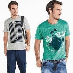 Um jeans Hering e uma camiseta estilosa... Uma combinação perfeita! Passa lá na HT Store e confira esses e outros look feitos para combinar com o seu estilo! #hering #HTstore #camiseta #jeans #moda