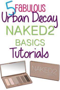 5 Naked2 Basics Palette Tutorials