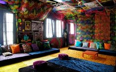 Decoración hippie