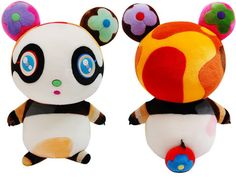 "Takashi Murakami is clearly a well known, prolific artist. He created this plush panda, ""Putipanda,"" in a collaboration with Louis Vuitton. The colors, the colors in his work are quite eye catching. (Image from http://media.photobucket.com/image/recent/ilvoelv/ILVOELV3/MurakamiPanda.jpg)"
