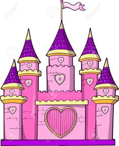 Find Castle Vector Illustration stock images in HD and millions of other royalty-free stock photos, illustrations and vectors in the Shutterstock collection. Castle Clipart, Castle Vector, Castle Drawing, Castle Painting, Drawing For Kids, Painting For Kids, Art For Kids, Castle Cartoon, Castle Mural