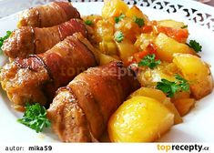 Pork Tenderloin Recipes, Tandoori Chicken, Chicken Wings, Sweet Potato, Sausage, Food And Drink, Potatoes, Treats, Vegetables