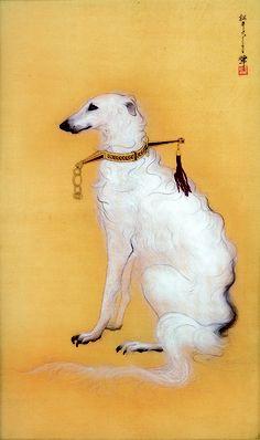 盲犬図 Fuyuko Matsui