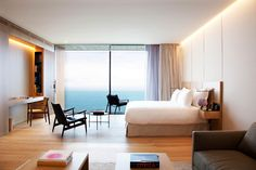 In this year's Hot List—our picks of the year's top hotel openings—Europe claims 19 hot properties, including capital city game-changers in Finland and Georgia. Camas King, Piscina Interior, Destinations, French Style Homes, Bedroom Pictures, Modern Bedroom Design, Contemporary Bedroom, Europe, Spacious Living Room