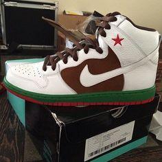 #Nike Dunk SB High 'Cali' Sample #sneakers