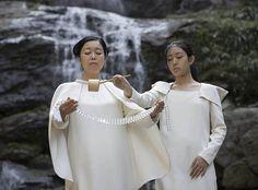 Mariko Mori, Ring: One with Nature opening celebration on August 2, 2016. Courtesy of photographer Leo Aversa/the Faou Foundation.