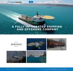 Website - Nortrans Shipping Agencies