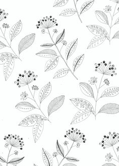 Ivy pattern design. | Ryn Frank.