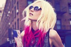 cabello color fantasia
