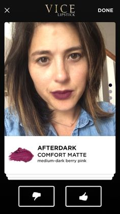 No more wasing money on makeup! The new Vice Lipstick app lets you try colors virtually before you buy them, right on your smart phone