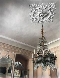 Ceiling Rose, Ceiling Lights, Chandelier, French, Detail, Lighting, Home Decor, Luxury, Candelabra