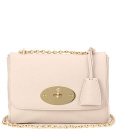 MULBERRY Lily Small Leather Shoulder Bag. #mulberry #bags #shoulder bags #hand bags #lace #suede #lining #