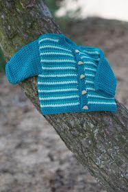 Hakelotje spint, breit, haakt en ontwerpt: Gratis patroon babyjasje
