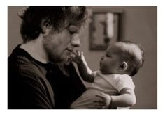 this is one of the cutest photos of Ed I have ever seen.
