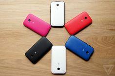 Moto E, último smartphone lançado pela Motorola.