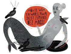Newsweek Poland Magazine by Agata DUDU Dudek Tarot, Visual Map, Pencil Painting, Aqua Marine, Weird Art, Illustrations And Posters, Cover Art, Poland, Illustrators