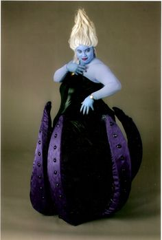 Ursula  Tentacles from bottom of dress OMG If I have the patience to make this, I will totally go as her one year!