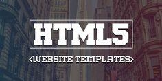 15 Responsive HTML5 CSS3 Website Templates #html5templates #webtemplates #psdtemplates #responsivedesign