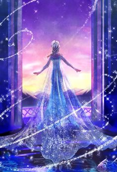I love this photo of Elsa from Frozen