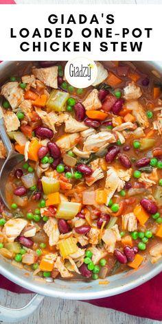 Giada Recipes, Soup Recipes, Chicken Recipes, Dinner Recipes, Cooking Recipes, Healthy Recipes, Fall Recipes, Healthy Comfort Food, Recipes