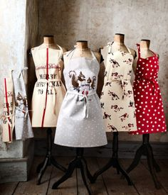 I love aprons and I do like this style or similar.....aprons from H&M