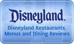 Disneyland restaurant guide & reviews