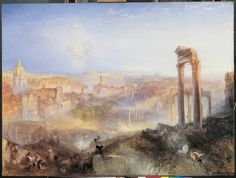 joseph mallord william turner: Modern Rome - Campo Vaccino
