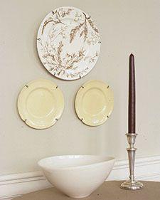 Plate Hanger DIY Make it Cueroandmor | DIY | Pinterest | DIY and crafts Make it and Plates & Plate Hanger DIY Make it Cueroandmor | DIY | Pinterest | DIY and ...
