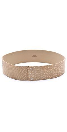 Robert Rodriguez Python Classic Waist Belt