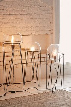 Baxter Globe Floor Lamp - Urban Outfitters