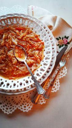 Zuppa di verza Garcia/Sopa de repollo Garcia | Rossotamarindo