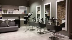Hip- Hop styling chairs/ Boom washing unit. Salon Ideas from Ayala salon furniture. Modern salon design.