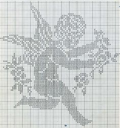 FREE ANGEL CHERUB FILET CROCHET PATTERN - Google Search