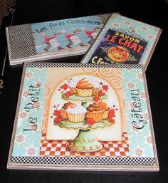 Quadrinhos para cozinha TÉCNICA: Transferência de imagens IMAGENS: Montagem Cristiane B Pires. MARCENARIA: Miguel Canônico