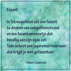 Fazant - (dierengedichten van Rikkert Zuiderveld) -