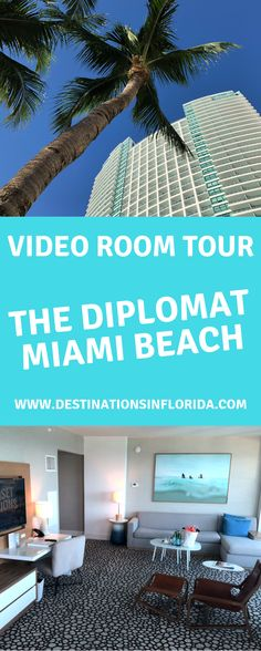 Are you looking for a beach vacation for the family? Check out the amazing Diplomat Hotel in This is the perfect South Beach resort for families. Florida Resorts, Florida Vacation, Florida Beaches, Beach Resorts, Top Family Vacations, Family Travel, South Beach, Miami Beach, Florida Adventures