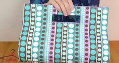 3 bolsos de mano que querréis tener en vuestro armario New Look Clothes, Diy Clothes, Fabric Patterns, Sewing Patterns, Purse Tutorial, Diy Recycle, Handmade Bags, Leather Craft, Bag Accessories