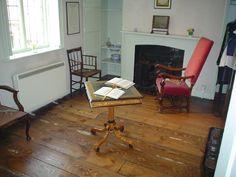 La habitación de Jane Austen, en Chawton
