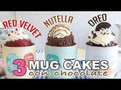 3 Mug cakes con chocolate - Recetas de postres (y panes)
