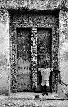Doors of Stone Town, Zanzibar - XII | by scurvy_knaves