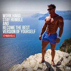 "Motivational Fitness Quotes QUOTATION - Image : Quotes Of the day - Description ""Work Hard, Stay Humble and Become the Best Version of Yourself"" Bodybuilding Training, Bodybuilding Workouts, Men's Bodybuilding, Fitness Motivation Quotes, Fitness Goals, Fitness Tips, Bodybuilding Motivation Quotes, Lifting Motivation, Health Fitness"