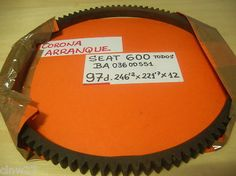 SEAT 600D Corona de arranque 97 dientes - Seat 600 ( todos ) - nuevo Ref. BA03600551