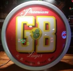 GB Beer Sign