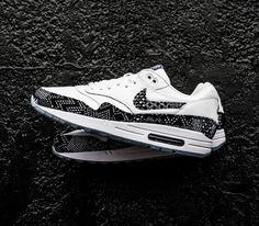 Nike Air Max 1 BHM – White / White – Metallic Gold