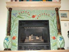 Amazing fireplace
