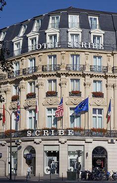 Hôtel Scribe Paris - A Week In... Paris and Provence   http://www.tauck.com/tours/europe-tours/france-tour/france-tour-fw-2015.aspx